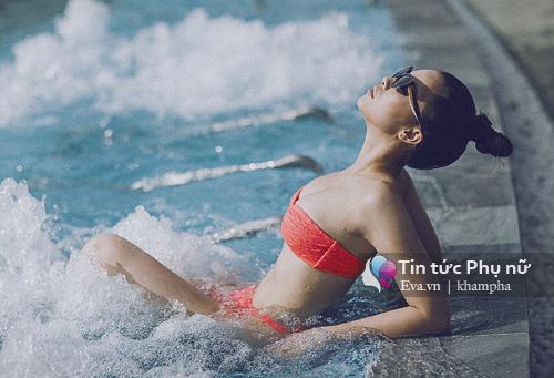 Quách an an nóng bỏng với loạt ảnh bikini chào hè - 1