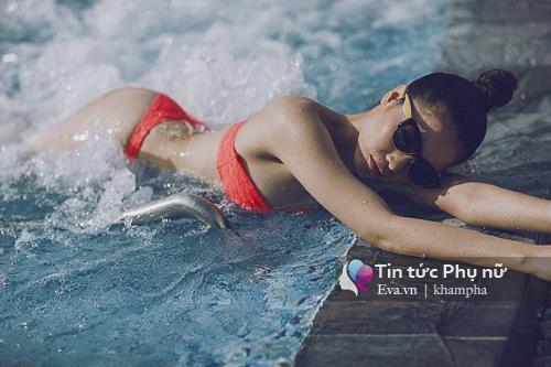 Quách an an nóng bỏng với loạt ảnh bikini chào hè - 7