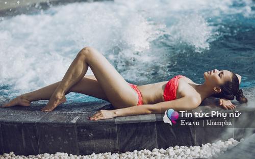 Quách an an nóng bỏng với loạt ảnh bikini chào hè - 8