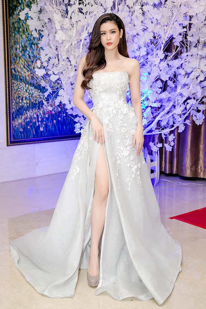 Sao mặc đẹp tuần việt trinh quá trẻ đẹp ở tuổi u50 khi hóa cô dâu với váy cổ điển - 8