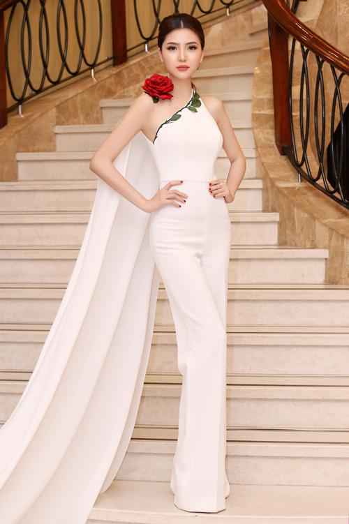 Thời trang sao đẹp tuần nữ hoàng sắc đẹp ngọc duyên tái xuất khiến fan thẫn thờ - 3
