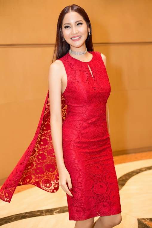Thời trang sao đẹp tuần nữ hoàng sắc đẹp ngọc duyên tái xuất khiến fan thẫn thờ - 9