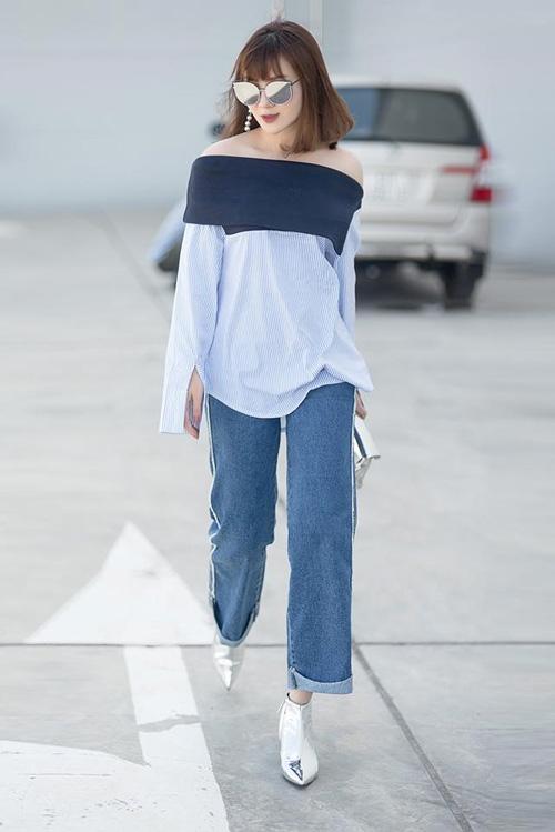 Từ hoa hậu đến người mẫu đều mê nên bạn càng không thể làm ngơ kiểu áo này - 10