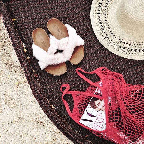 Túi đựng hoa quả của các mẹ bỗng chốc lên đời thành phụ kiện hot hè 2017 - 10