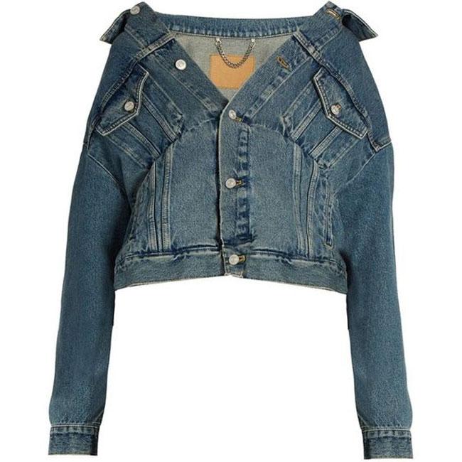 Tưởng ăn mặc cẩu thả nhưng hóa ra đây là mốt mới của áo khoác denim - 11
