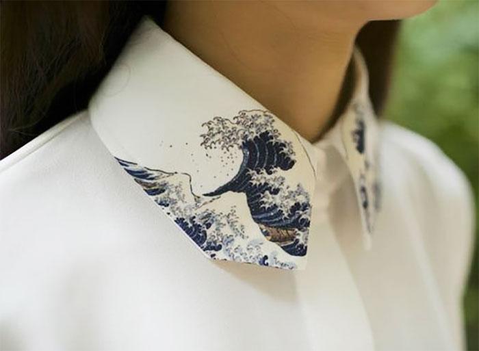 Váy công sở mà mặc cùng cổ áo sơ mi kiểu này thì đẹp tuyệt vời - 1