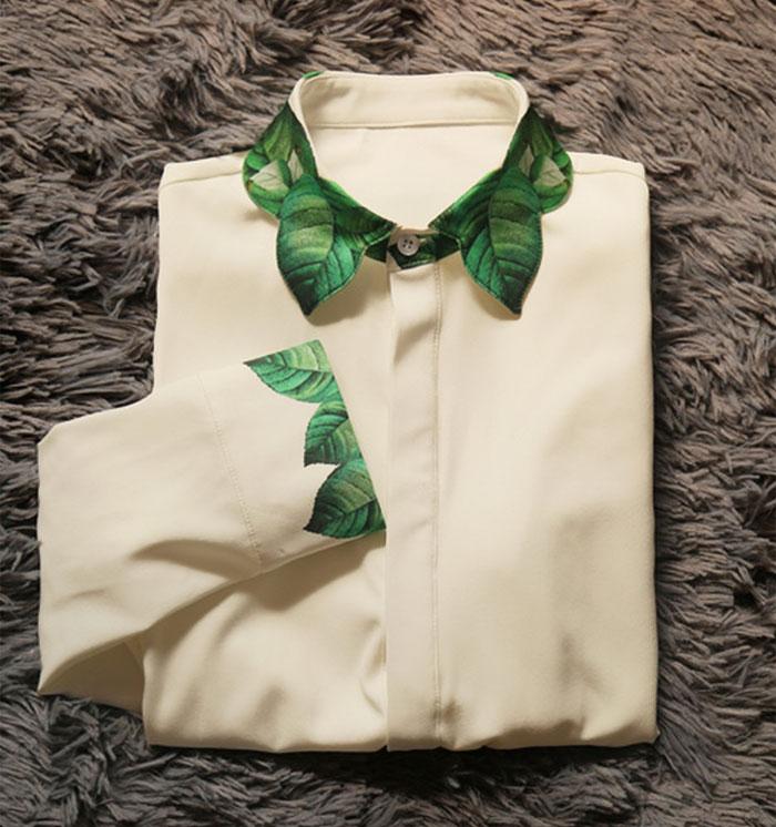 Váy công sở mà mặc cùng cổ áo sơ mi kiểu này thì đẹp tuyệt vời - 4