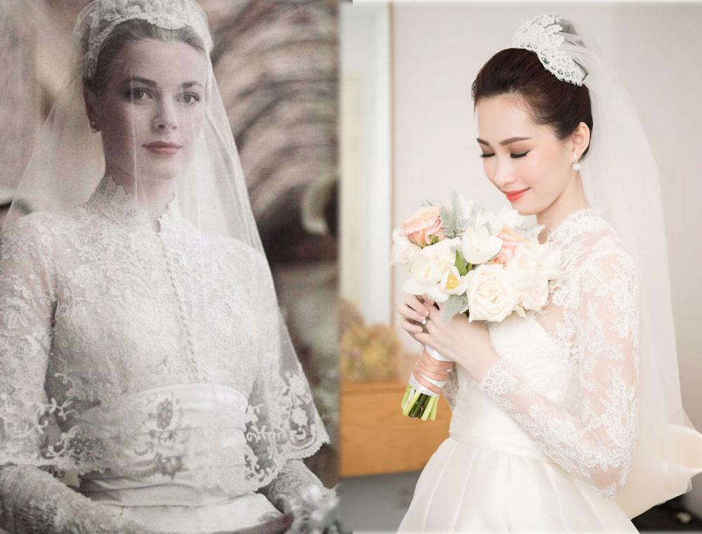 Váy cưới của thu thảo - 1