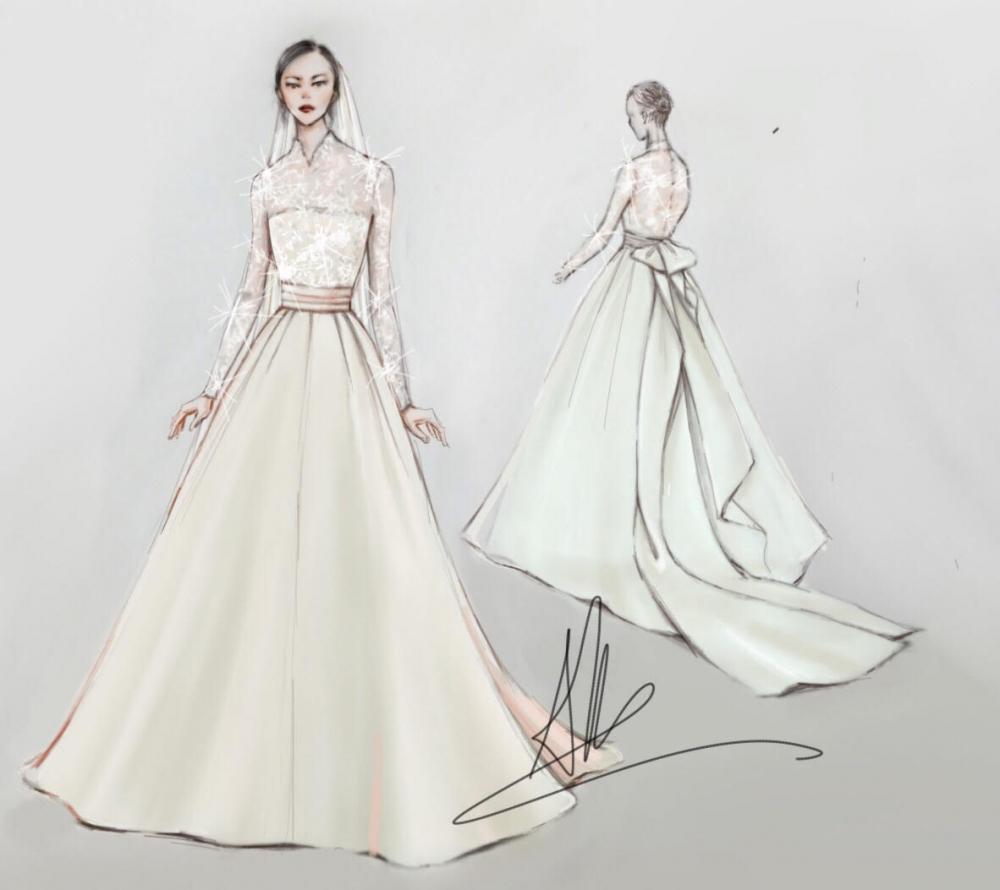 Váy cưới của thu thảo - 2