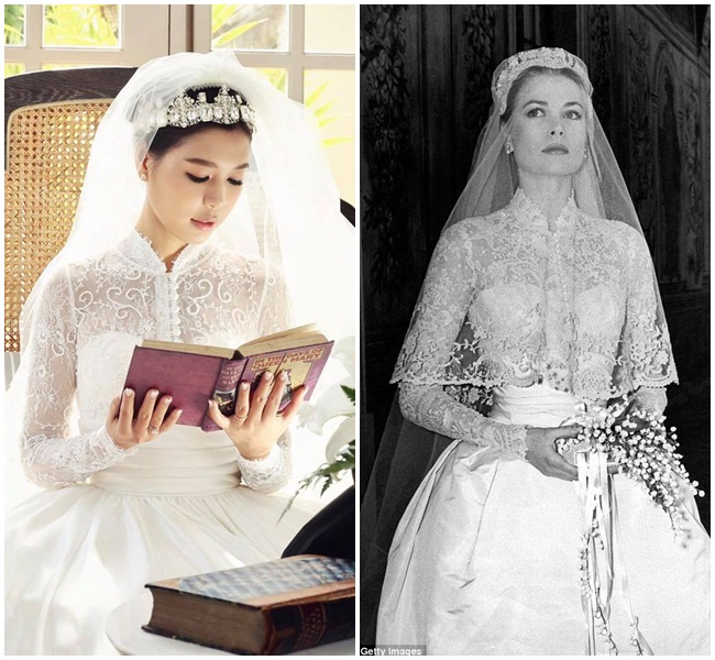 Váy cưới của thu thảo - 5