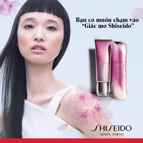 Với shiseido mỗi cô gái là một nàng thơ - 1