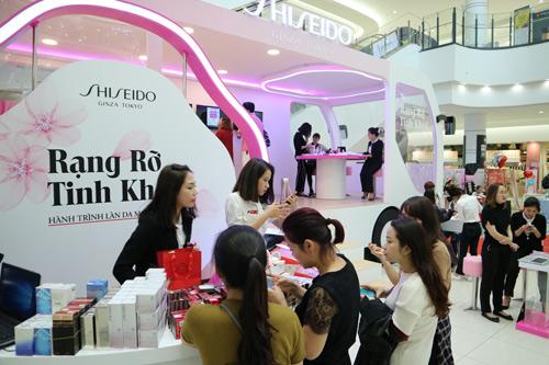 Với shiseido mỗi cô gái là một nàng thơ - 3