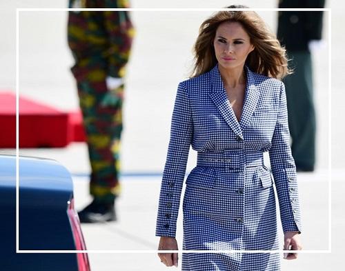 Bí ẩn thời trang hút triệu lượt view của đệ nhất phu nhân mỹ melania trump - 1