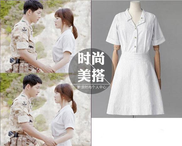 Bóc giá váy áo song hye kyo trong hậu duệ mặt trời - 4