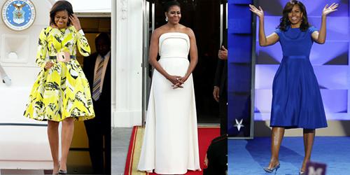 Giới thời trang mỹ lưu luyến phu nhân obama - 6