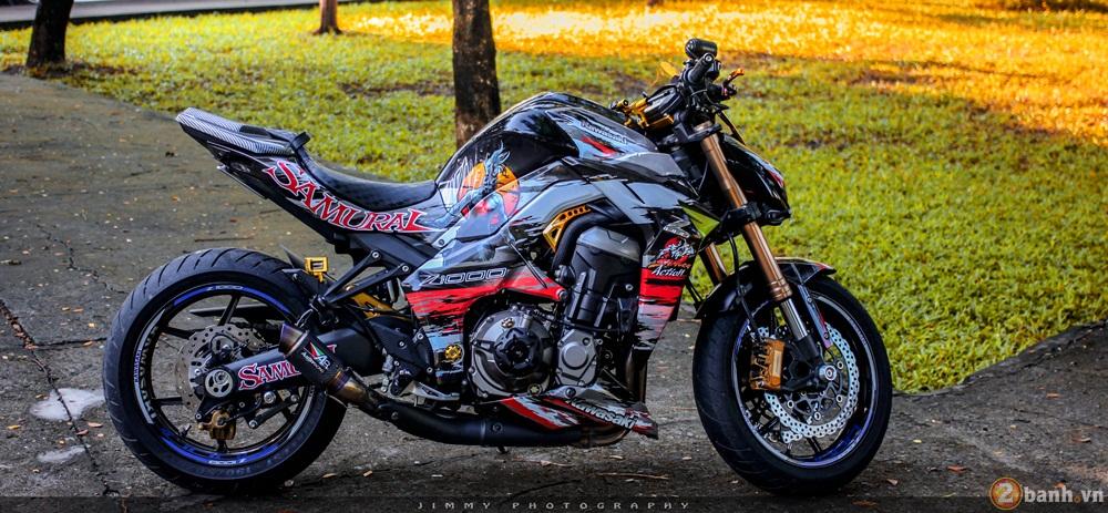 Kawasaki z1000 thần thánh với bản độ samurai - 1