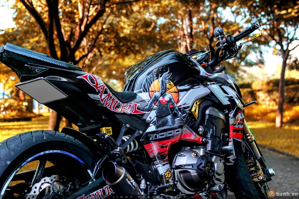 Kawasaki z1000 thần thánh với bản độ samurai - 3
