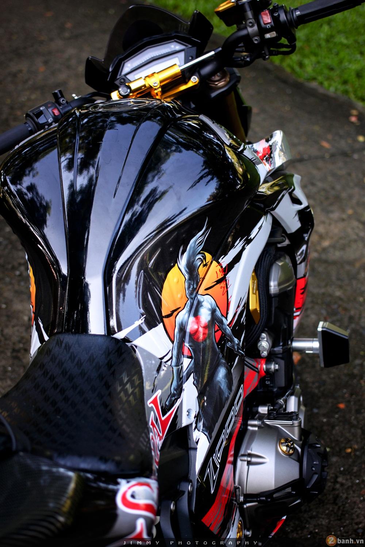 Kawasaki z1000 thần thánh với bản độ samurai - 4