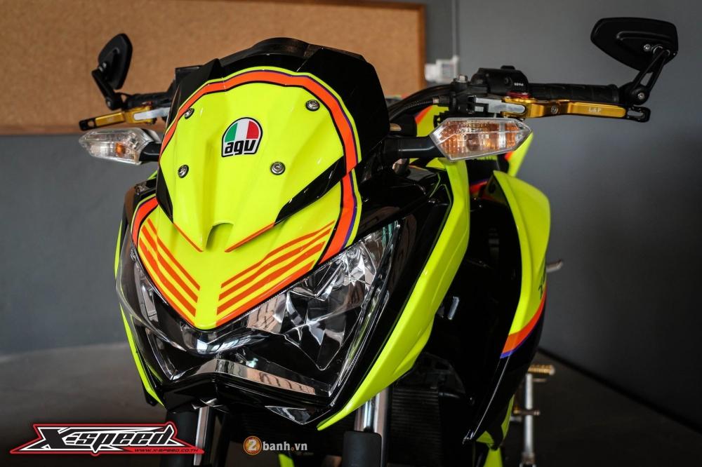 Kawasaki z250 nổi bật trong cánh agv corsa soleluna - 3