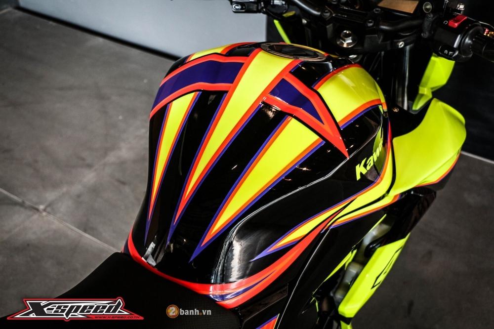 Kawasaki z250 nổi bật trong cánh agv corsa soleluna - 4