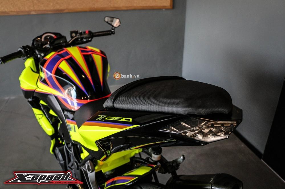 Kawasaki z250 nổi bật trong cánh agv corsa soleluna - 6