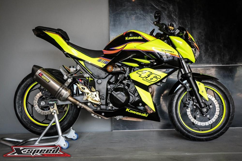 Kawasaki z250 nổi bật trong cánh agv corsa soleluna - 7
