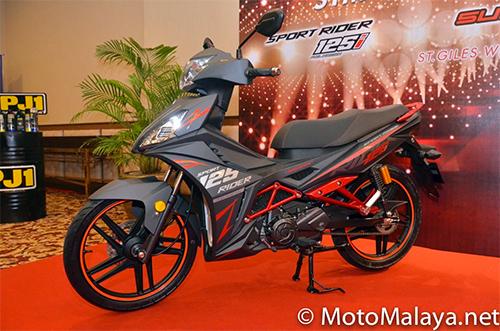 Sym sport rider 125i ra mắt tại malaysia - 2