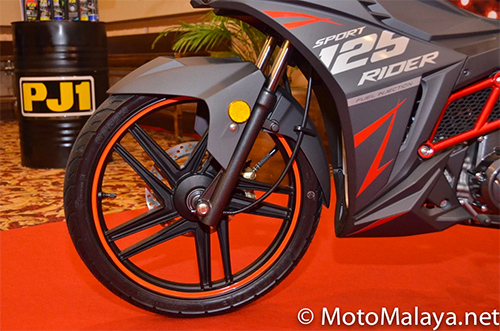 Sym sport rider 125i ra mắt tại malaysia - 5
