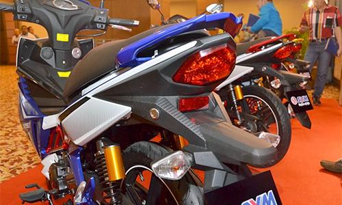 Sym sport rider 125i ra mắt tại malaysia - 8