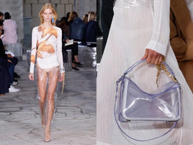 Vừa cá tính vừa kích thích ánh nhìn với mốt thời trang nhựa trong suốt kì dị - 1
