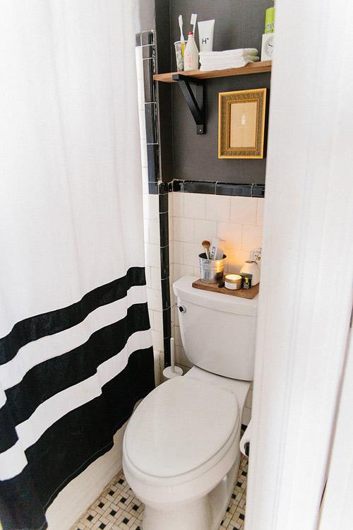 13 giải pháp cực đỉnh cho phòng tắm nhỏ - 9