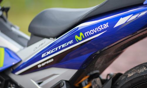 Ảnh cận cảnh chi tiết exciter 150 movistar 2016 - 16