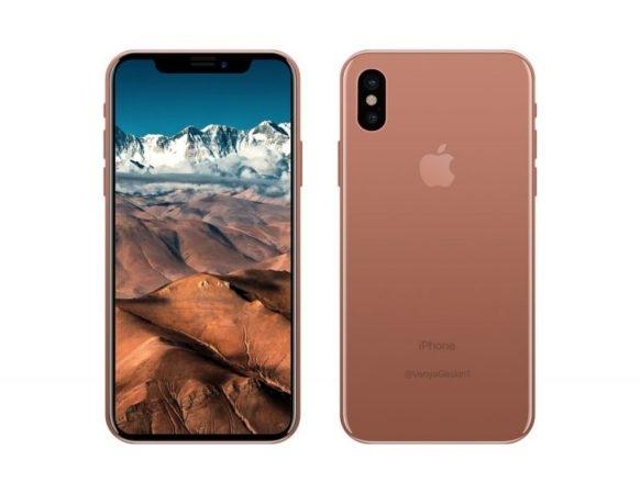 Apple chuẩn bị tung ra phiên bản màu blush gold cho iphone x - 1