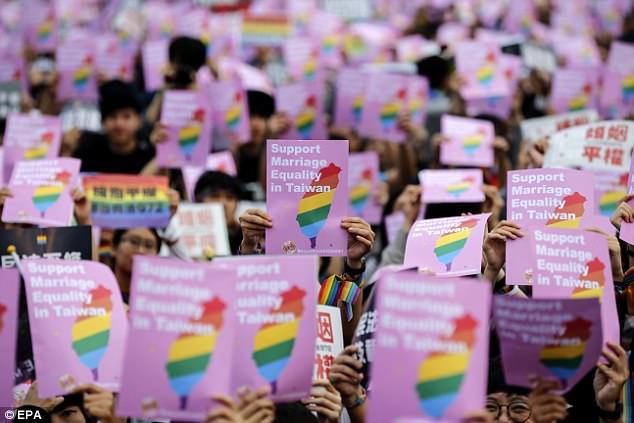 Đài loan là nơi đầu tiên của châu á hợp thức hóa hôn nhân đồng tính sau 30 năm đấu tranh - 3