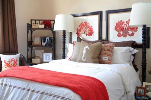 Dọn nhà đón thu cùng sắc đỏ san hô - 1