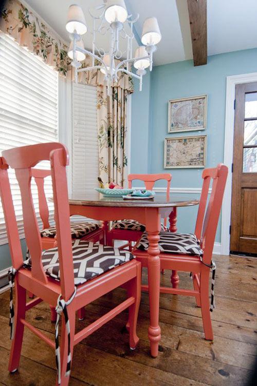 Dọn nhà đón thu cùng sắc đỏ san hô - 5