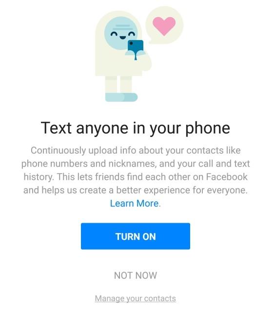 Facebook bị phát hiện ghi lại lịch sử cuộc gọi và tin nhắn của người dùng trong nhiều năm qua - 2