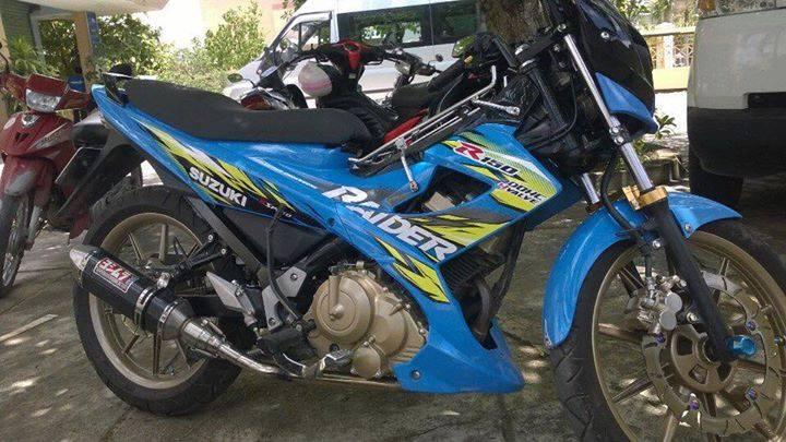 Suzuki raider 150 độ phong cách quái vật - 1