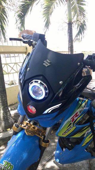 Suzuki raider 150 độ phong cách quái vật - 2
