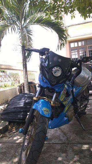 Suzuki raider 150 độ phong cách quái vật - 3