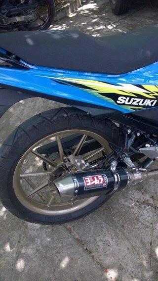 Suzuki raider 150 độ phong cách quái vật - 4