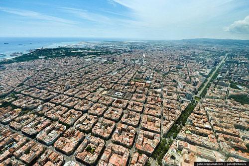 Kiến trúc eixample barcelona khác hẳn việt nam - 2