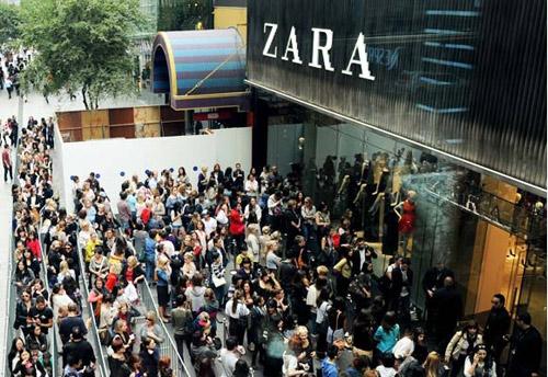Ngạc nhiên với thu nhập ở hãng thời trang zara - 2