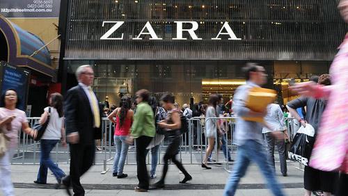 Ngạc nhiên với thu nhập ở hãng thời trang zara - 9