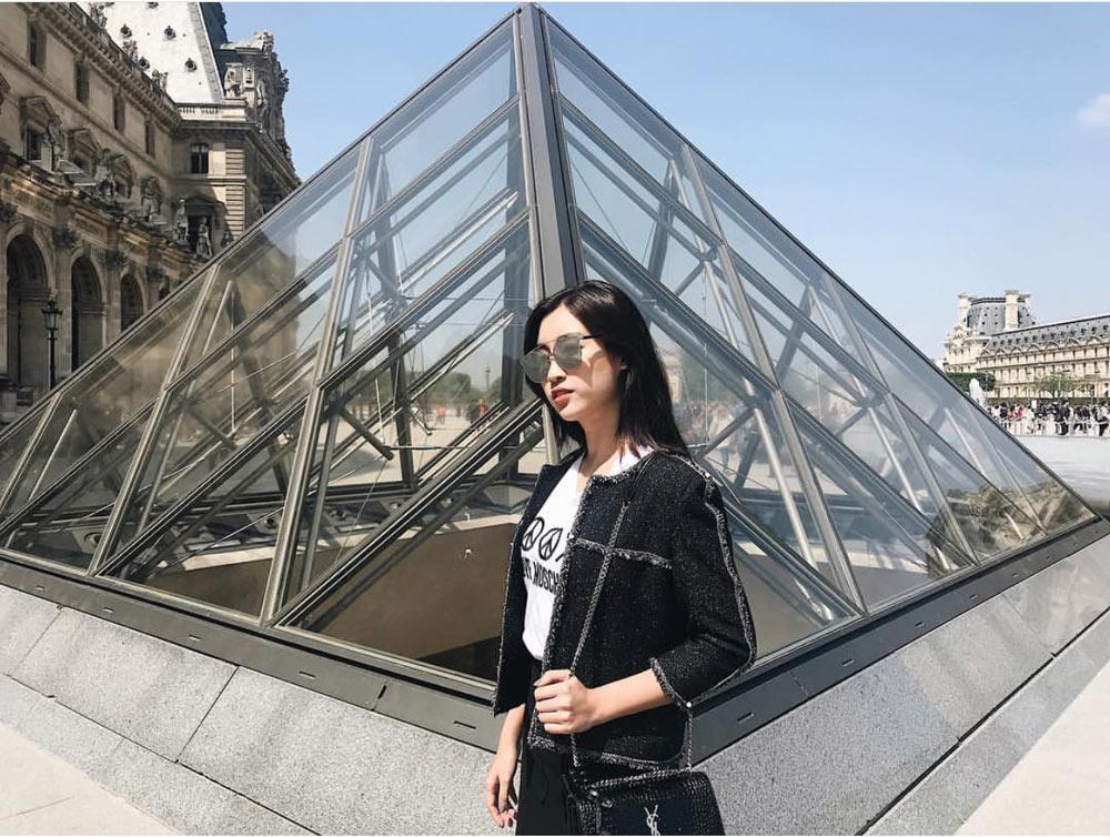 Chỉ một chiếc áo mà hoa hậu đỗ mỹ linh tài tình diện từ cannes qua tới paris - 5