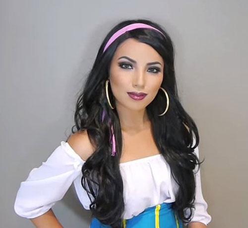 Cô gái có biệt tài hóa trang thành công chúa disney - 2
