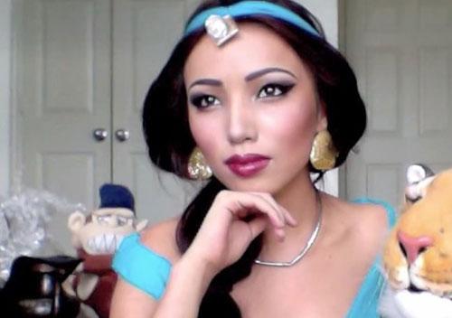 Cô gái có biệt tài hóa trang thành công chúa disney - 8
