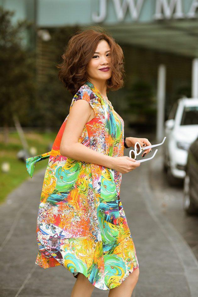 Helene hoài hóa quý cô mùa hè thanh lịch trong thiết kế của chính mình - 6