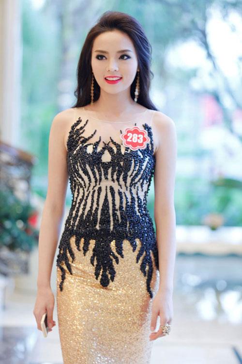 Hoa hậu kỳ duyên ngày càng mặt thon cằm nhọn - 15