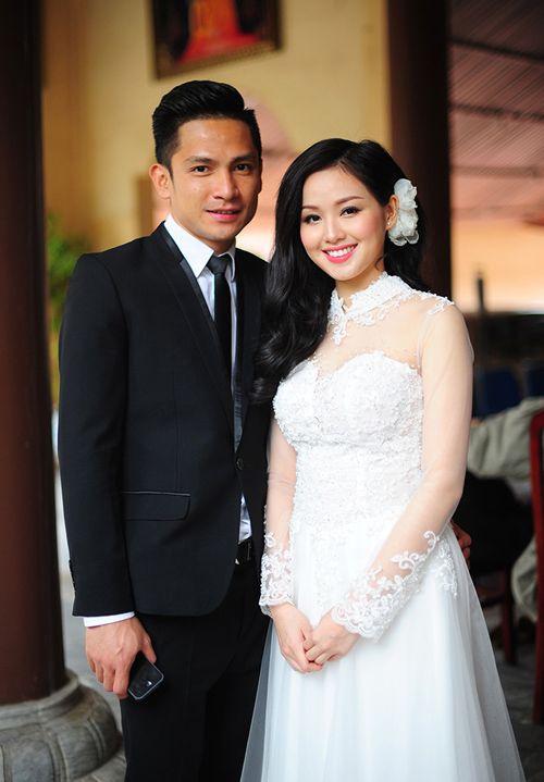 Tuần qua cô dâu tâm tít đẹp rạng ngời trong ngày cưới - 2
